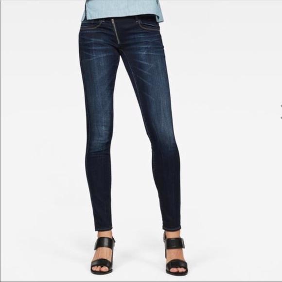 b7c261fceaa G-Star Jeans   Gstar Raw Lynn Zip Mid Skinny Jean   Poshmark